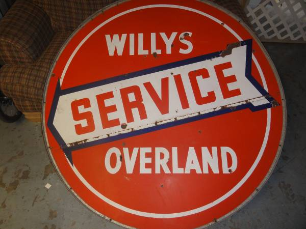 willys-overland-service-sign