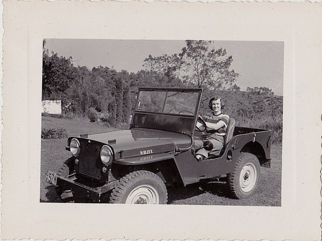 year-cj2a-woman-in-jeep