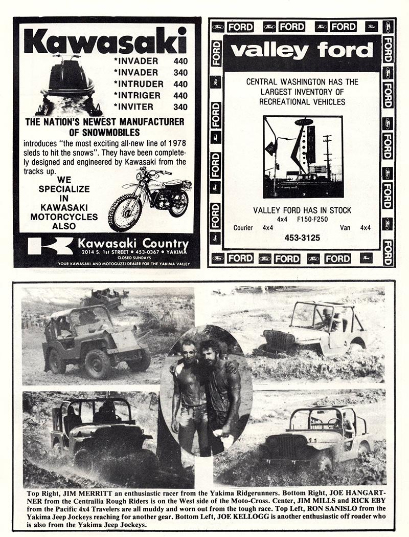Jeep Jockeys 4×4 Races – 1977 Souvenir Program | eWillys