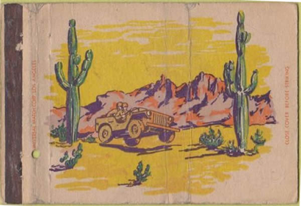 matchbook-cover-military-jeep