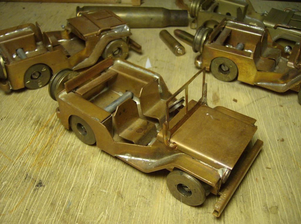 trench-art-jeep-model