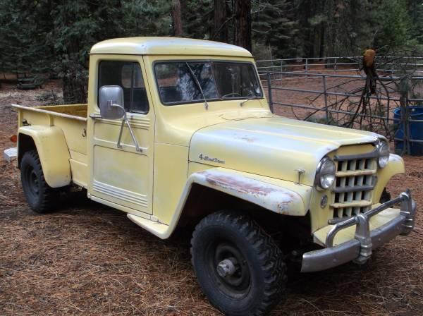 1950 truck shaverlake ca1
