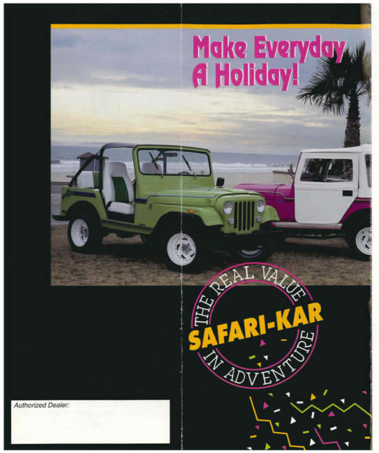 Safari-kar international brochure