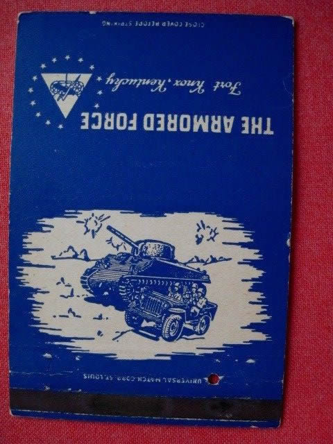 fort-knox-matchbook-kentucky-jeep