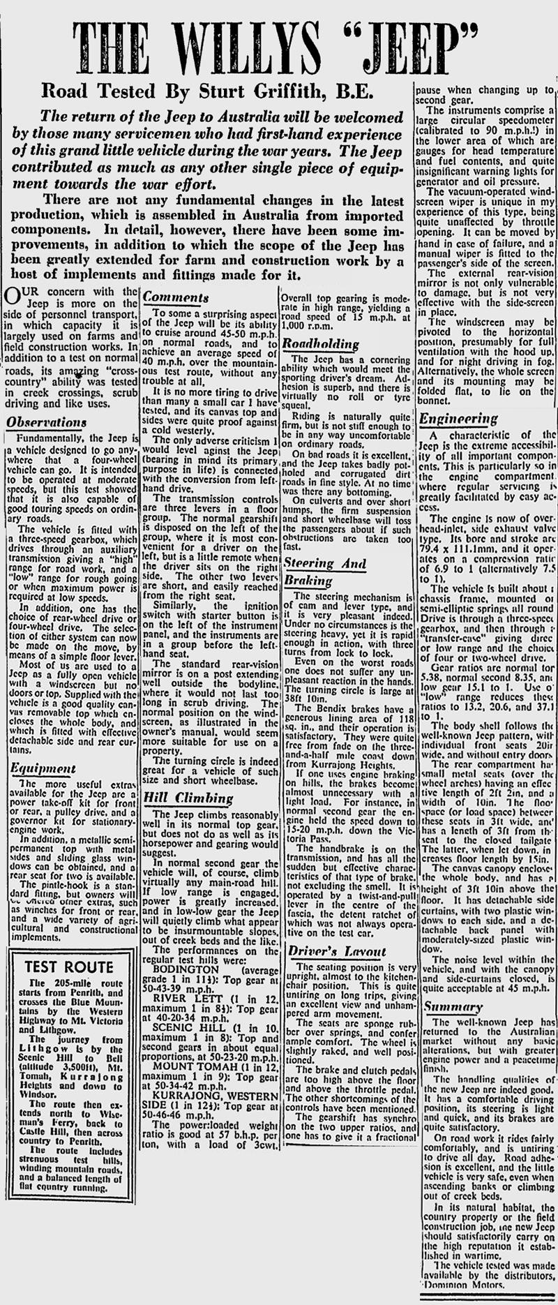 1958-08-11-sydney-australia-cj3b-review-text