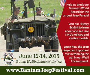 2015 Bantam Jeep Festival ad