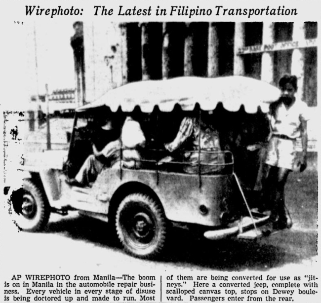 1946-03-07-spokesman-review-manila-stretched-jeep