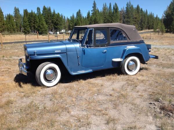 Craigslist 1951 Jeepsters For Sale Autos Post
