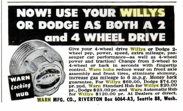 1953-08-warn-hub-ad
