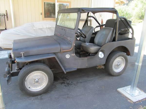 Slo Craigslist: VEEP (VW Jeep) & The Jago