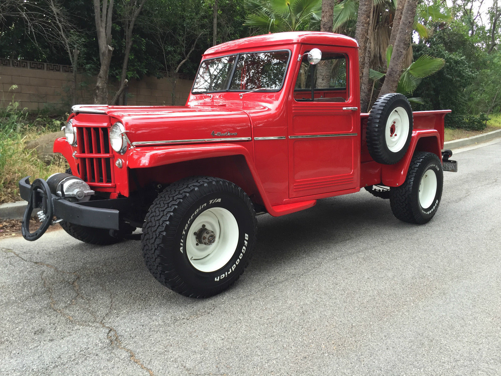 Willys Car: 1957-truck-tarzana-ca