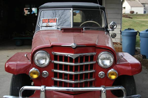 1950 Jeepster Mansfield, OH **SOLD** | eWillys