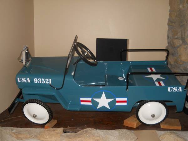hamilton air force pedal jeep middleton wi 1200 ewillys. Black Bedroom Furniture Sets. Home Design Ideas