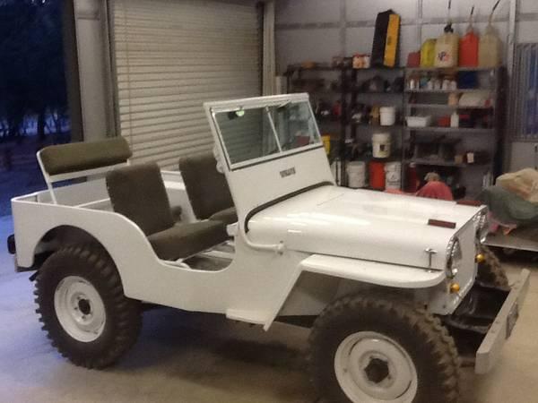 1946 CJ 2A Bakersfield CA $12 560
