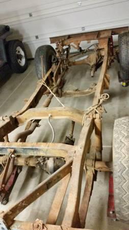 pre-48 US MADE!! Jeep Willys CJ2A 46-48 frame brake line kit