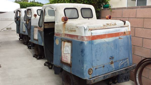 3 Cushman Mail Carts Orange County, CA **SOLD** | eWillys