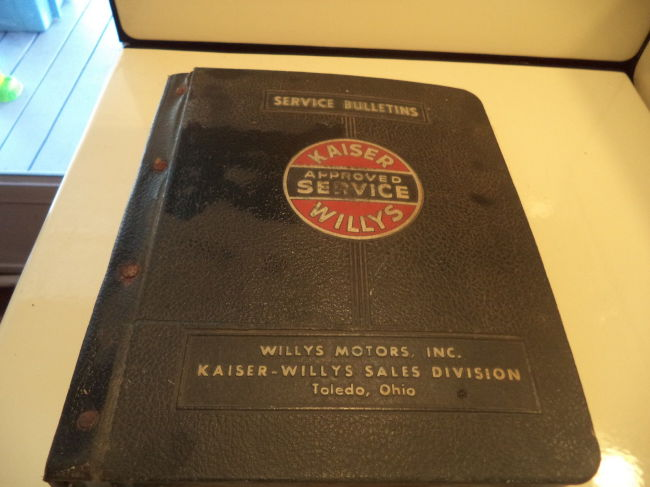 kaiser-willys-service-bulletin-book