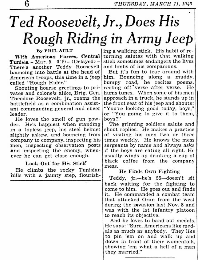 1943-03-11-milwaukeejournal-teddy-roosevelt-jr-jeep