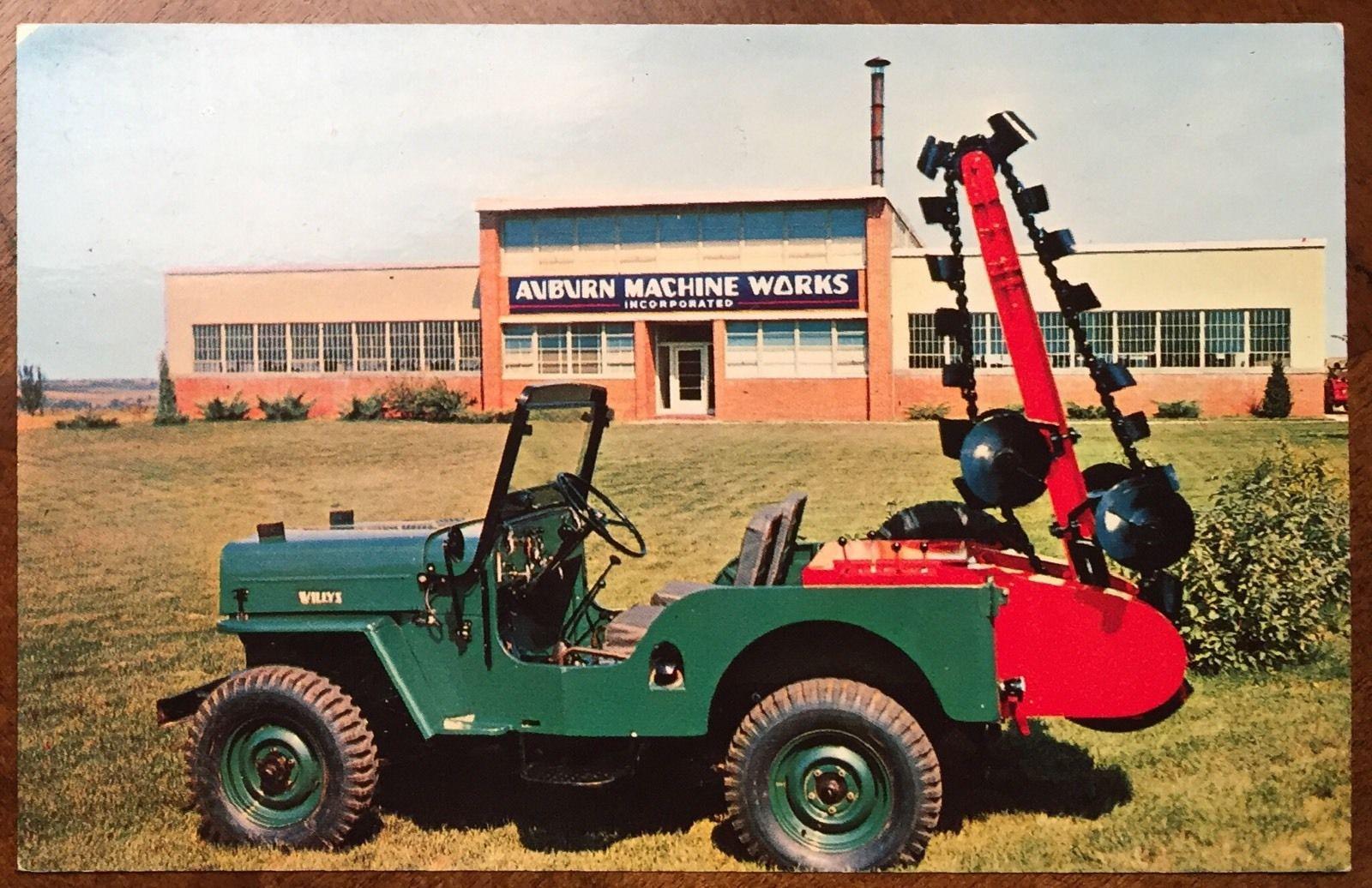 jeep-a-trench-postcard-cj3b-1