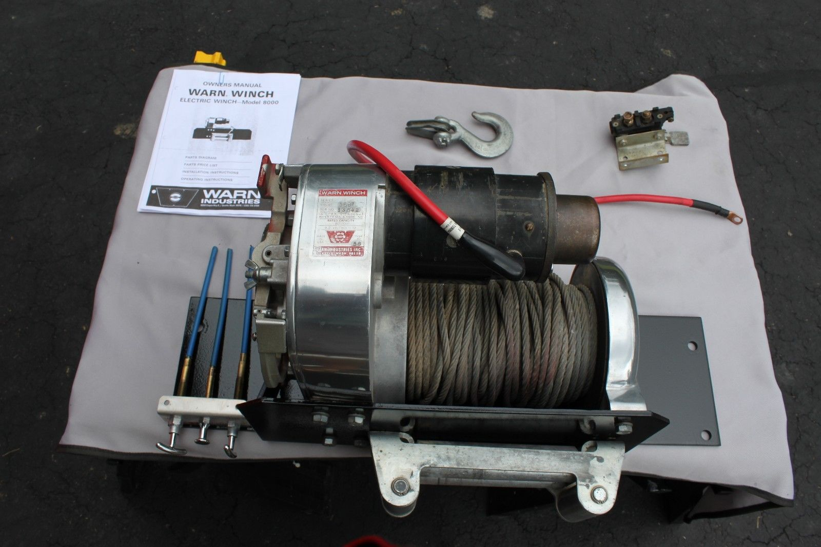 Chicago Electric Winch Solenoid Wiring Diagram Real Old Warn Parts Bing Images 12 Volt Company