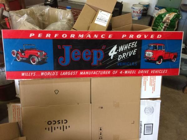 Willys-jeep-fc-cj5-sign-portland-or