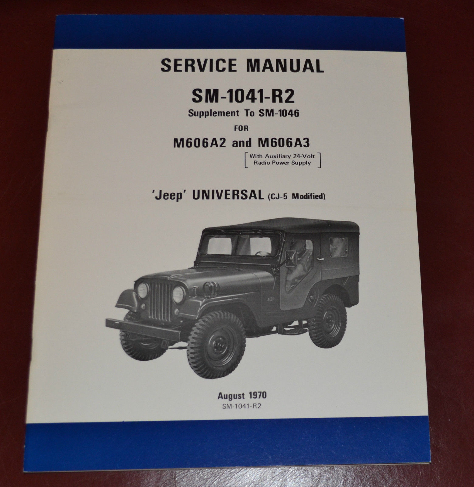 1970 military cj 5 m 606a2 m 606a3 brochure sold ewillys rh ewillys com Willys Jeep Truck Jeep Renegade