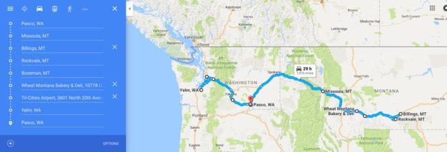 map-trip