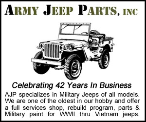 George Baxter Army Jeep Parts