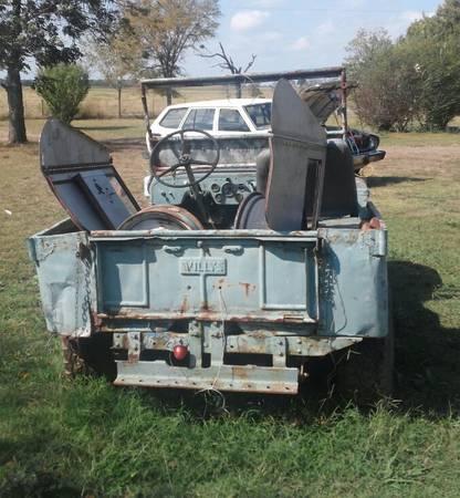 Year? CJ-2A Fort Smith, AR $600 | eWillys