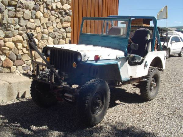 1950 Willys-Overland Jeepster Picture Ref. #50570 Factory Photo