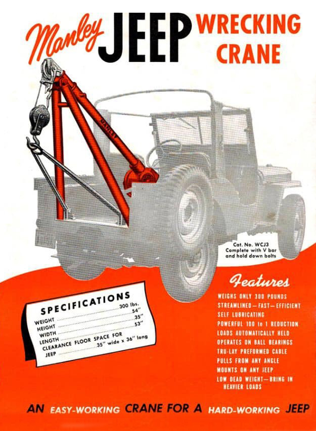 year-manley-jeep-wrecking-crane-brochure
