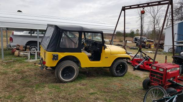 Cj5 ewillys page 4 - Craigslist tulsa farm and garden ...