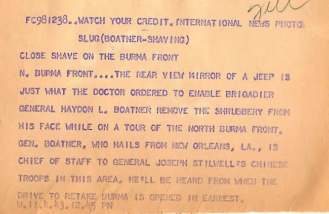 1943-04-11-general-haydon-boatner-shaving-burma