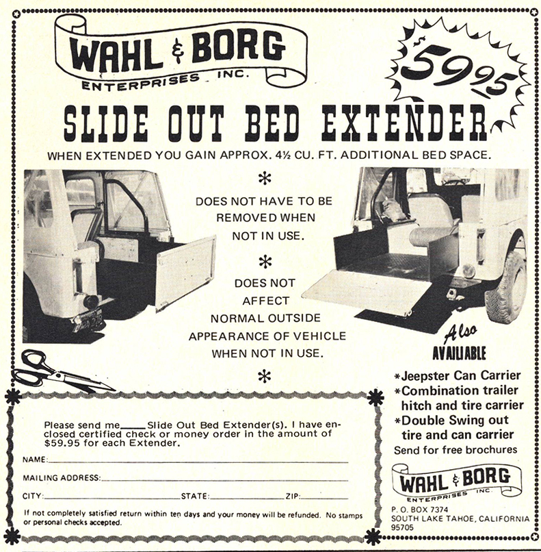 wahl-borg-slide-out-bed-extender