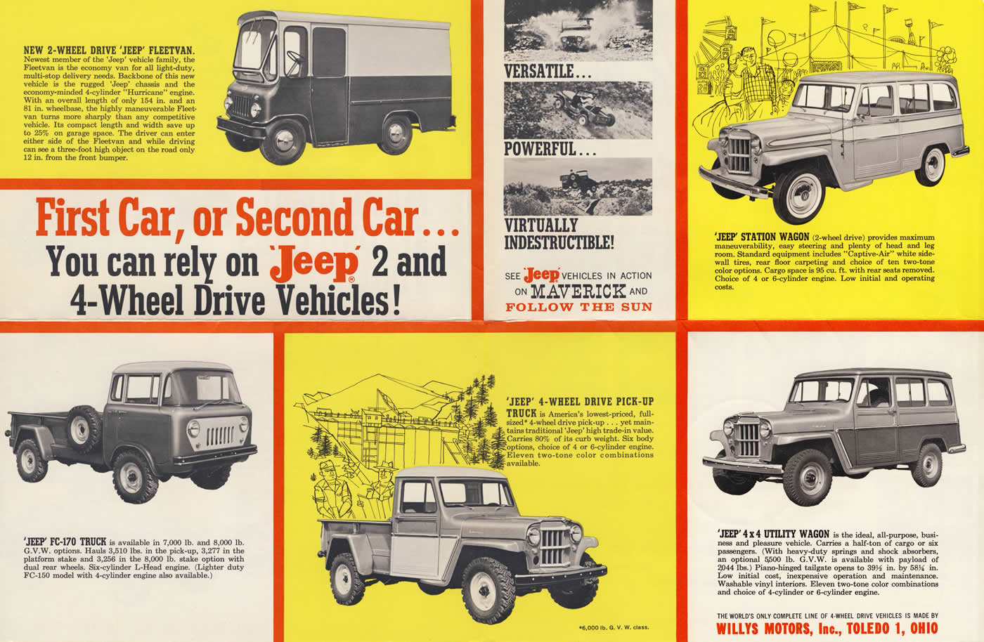 1961 Jeep Family Brochure Ewillys