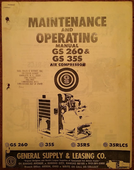 gs-260-compresser-manual