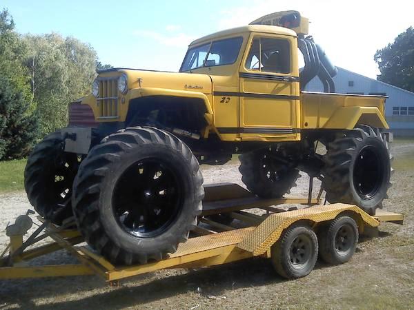 1953 Mud Truck Windsor, NH $10,000 | eWillys