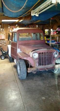 More Wagon and Truck Parts/Projects | eWillys