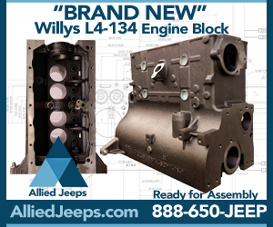 Allied Jeeps' New L-134 Block