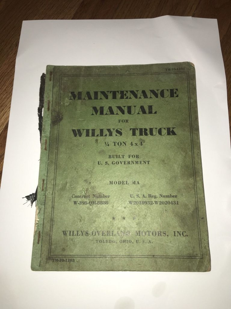 willys-overland-MA-tech-book