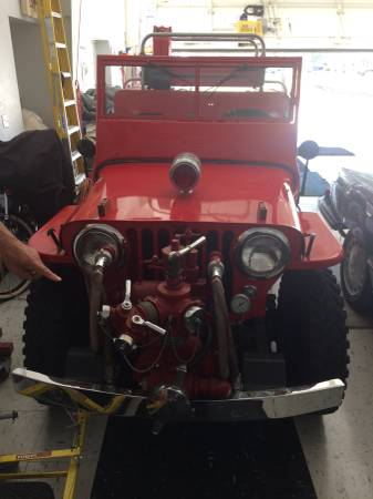 1951 CJ 3A Fire Jeep Spruce Creek FL 20000