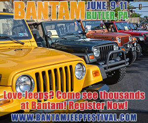 2017 Bantam Jeep Festival ad