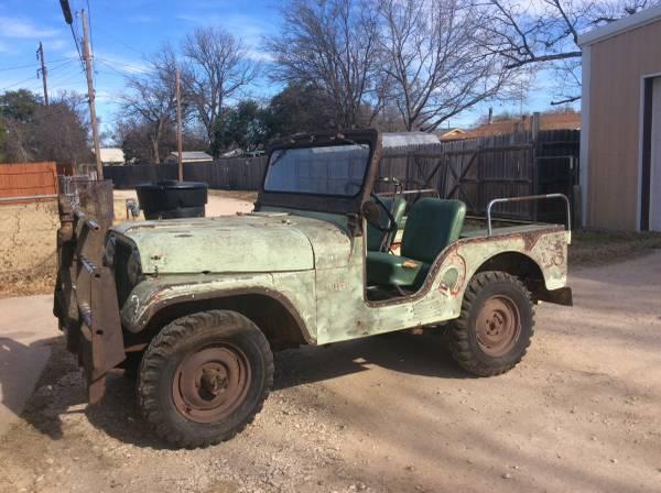 1957 CJ-5 Abilene, TX $3000   eWillys