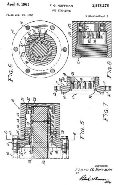 1958-huffman-hub-patent1