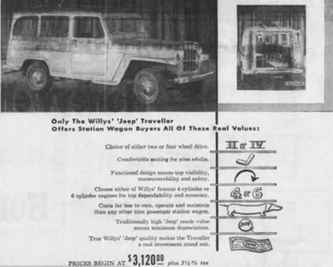 Willys ad - Honolulu, Hawaii  03