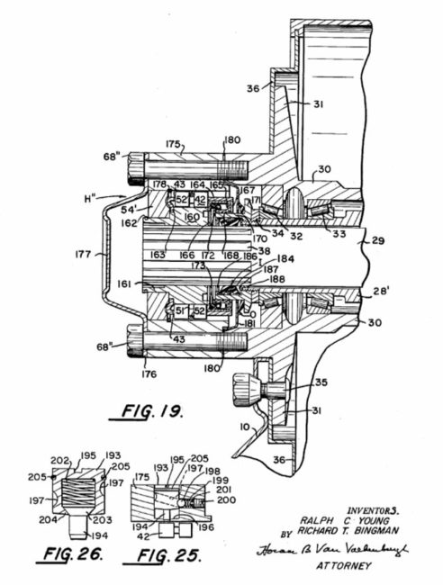 thor-auto-matic-hub-patent
