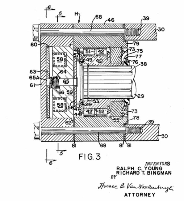 thor-lectro-matic-hub-patent