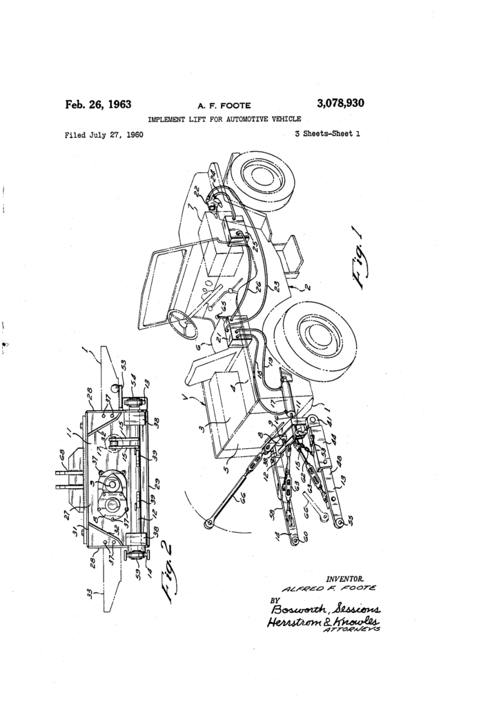 1960-07-27-stratton-pattent-US3078930A-lift-implement1