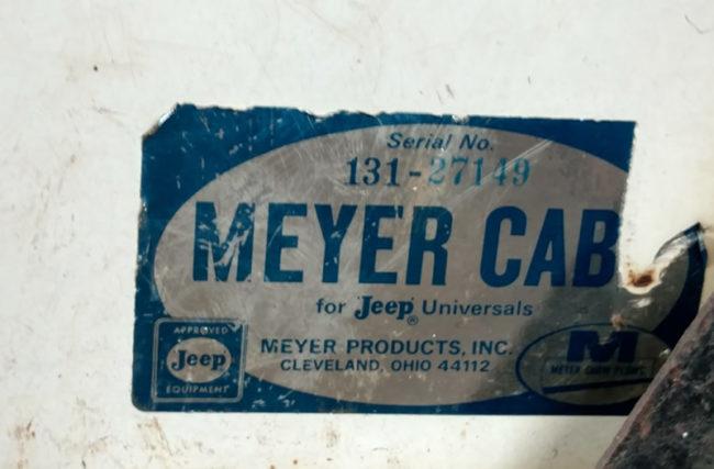 meyer-cab-serial-number-3