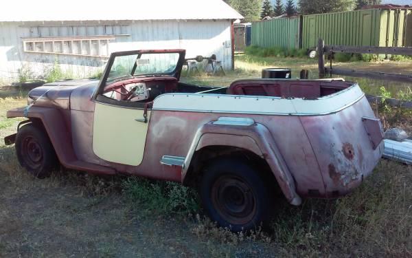 Jeepster Ewillys